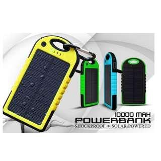Solar powerbank 10,000 mah