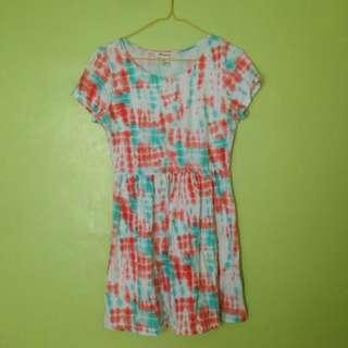 Forever 21 tie-dye dress
