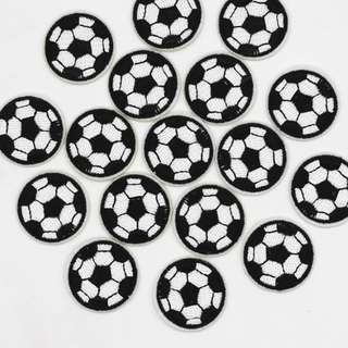 #85 10 PIECES SET football soccer tumblr iron on patch | po