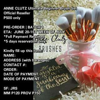 Anne clutz brushes