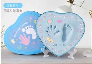 D.I.Y Baby Footprint and Handprint