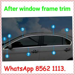 Window Frame Trim for various car model!
