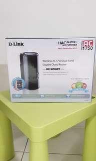 D-Link AC1750 Dual Band Gigabit Cloud Router