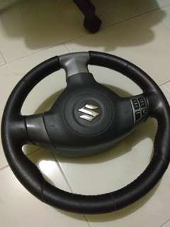 Swift sport steering wheel