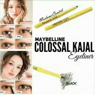 New Eyeliner Putar Maybelline Kajal (Warna Hitam)