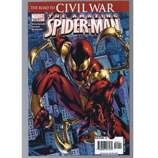 Marvel Comics Amazing Spider-Man #529 First Iron Spider Suit Civil War Infinity HOT NM/NM+
