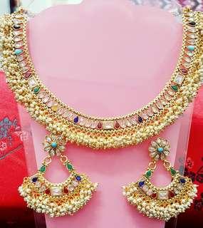 Designer pealrs Necklace set 4D