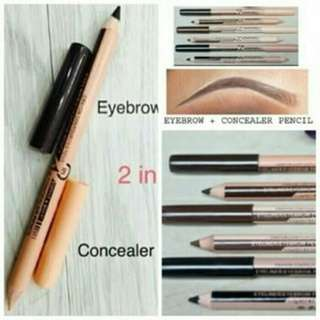 New Concealer Dan Eyebrow Me Now Pencil (Coklat)