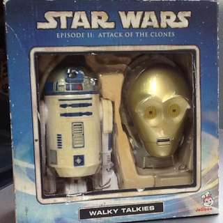 Star Wars Episode II  Attack of the Clones Walky Talkies