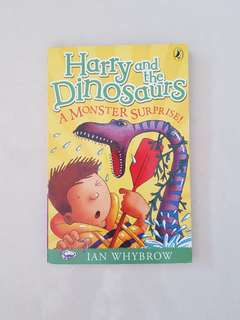 Harry and the Dinosaurs book