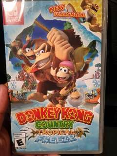 [Switch] Donkey Kong Country: Tropical Freeze (Strictly by postage)