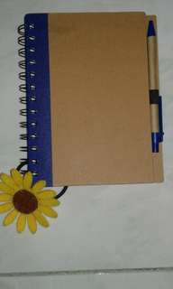 Note book pad with ballpen