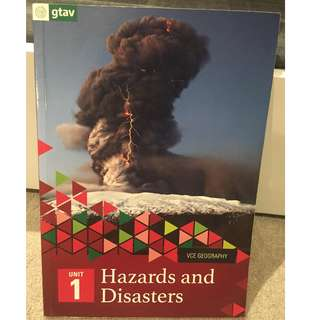 VCE Geography Unit 1 Hazards and Disasters