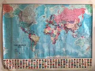 Large World Map