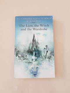 The Lion, the Witch and the Wardrobe book by CS Lewis