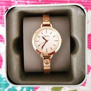 Authentic Fossil Georgia Watch