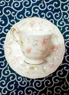 Narumi flower season Japan ceramic tea cup set