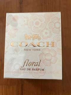 COACH NEW YORK (Floral)