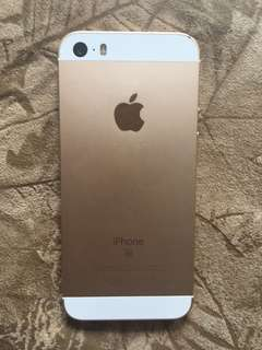 Gold iPhone SE