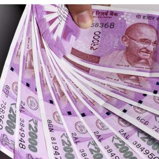 Change indian rupees (2000 note) to SGD currency INR 50,000