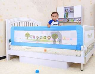 1.8m toddler children bed side safetyguard