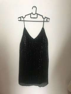 Special Edition Bershka Sparkly Sling Dress