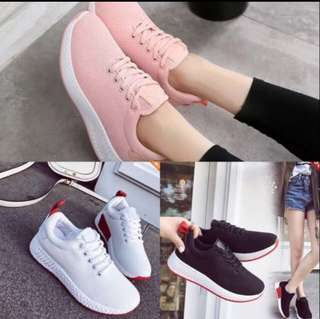 Rubber shoes / Sneakers / Black rubber shoes / White rubber shoes