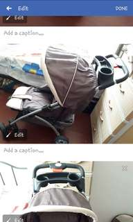Stroller and Baby Carrier