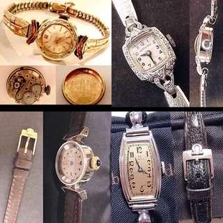 女裝古董手錶八折出讓:五月份優惠