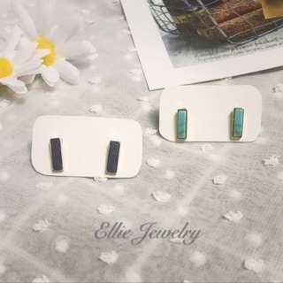 🧚🏻♀️石紋耳環 🧚🏻♀️