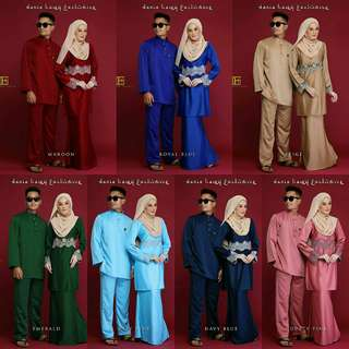 Couple set raya (po)
