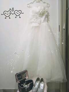 (Rent only)  Bridal Gown ( Flower Dreams)
