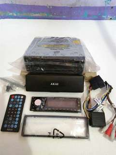 AKIA DVD am/fm Car Stereo (single din)