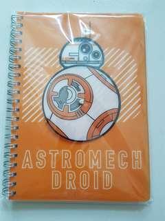 ⛤BN BB8 Astromech Droid Notebook