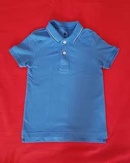 EUC Uniqlo Kid's Polo Shirt (Sz 110)