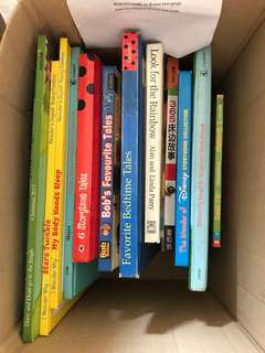 A collection of 14 children book.