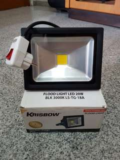 Lampu sorot LED Krisbow 20w warm white