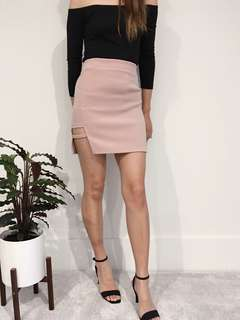 Cutout Mini Skirt from Korean brand Icecream12