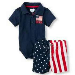 Children's Place 2pc Set - American Hunk
