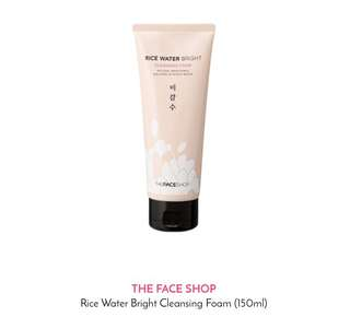 The Face Shop Rice Cleansing Foam