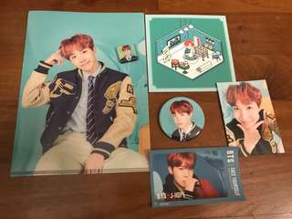 Official BTS Jhope Happy Ever After 4th Muster Fanmeeting merchandise and sticker