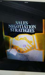 Sales negotiation strategies - building the win/win customer relationship