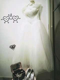 (Rent only) Bridal gown - elegant queen
