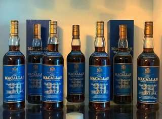 MACALLAN 30 YEAR OLD SHERRY OAK WHISKY