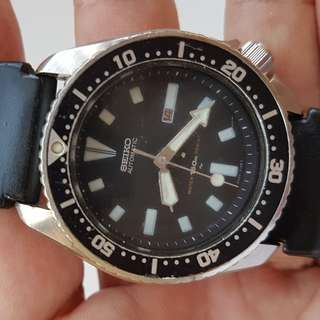 Vintage Seiko, Old Seiko, Rare Seiko, Retro Seiko, Men Seiko Submariner Scuba Diver's 150 Metres Automatic Watch, Calibre 4205, Seiko Time Corp, Seiko Watch Company Japan, Diver watch for Collector