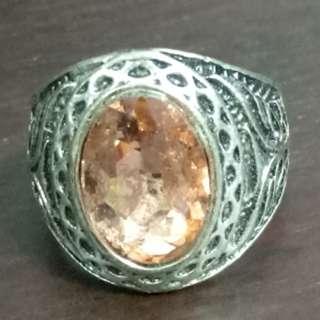 Stone Ring size 18.5