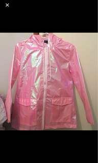 Pink Festival Holographic Jacket