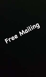 Free Mailing