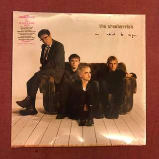 """NEW LP: The Cranberries """"No Need To Argue"""" (Clear Pink Colored Vinyl)"""