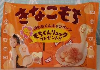 🚚 現貨 日本元祖黃豆麻糬巧克力 抹茶麻糬巧克力 7入 白巧克力 內餡巧克力 元祖巧克力